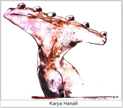 Ilustrasi dari Lukisan Karya Hanafi