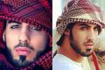 Omar Borkan uno de los tres hombres deportados de Arabia por ser muy bellos. Fotos.