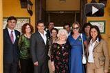 Visita de Antonio Banderas y Melanie Griffith a Cudeca 2.011