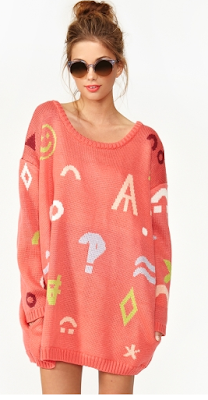 Data Sweater nastygal
