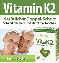 Empfohlene Vitamin K2 Produkte