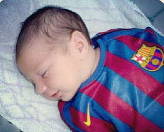 Messi's 2-weeks-old Son Signed By Argentina NewellFootball Club