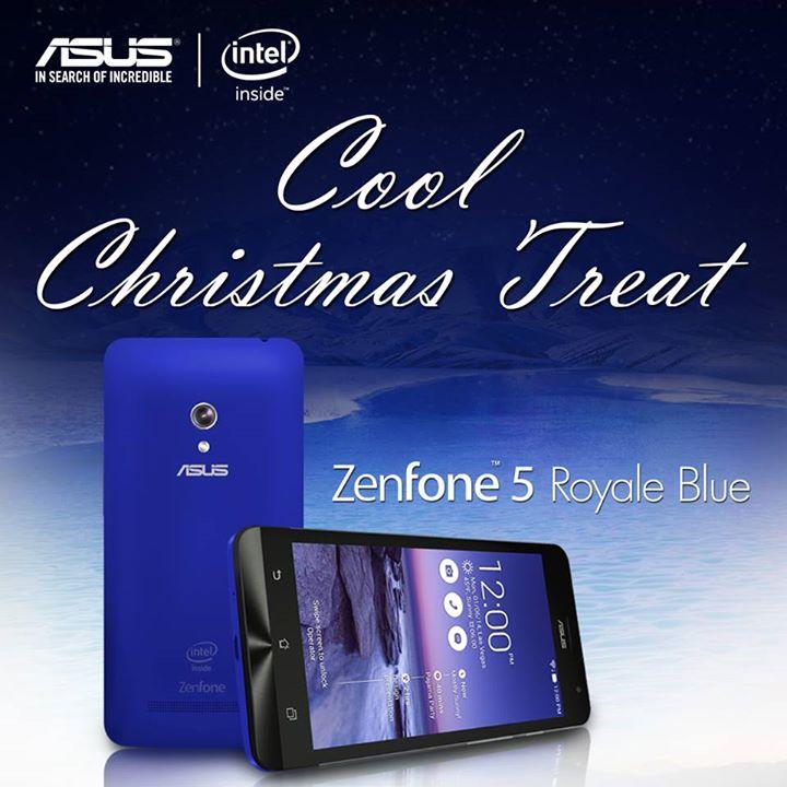 Royale Blue ASUS Zenfone 5