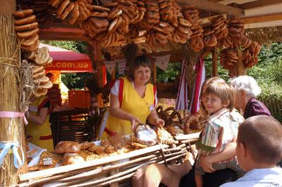 Фото Укринформ: праздник хлеба