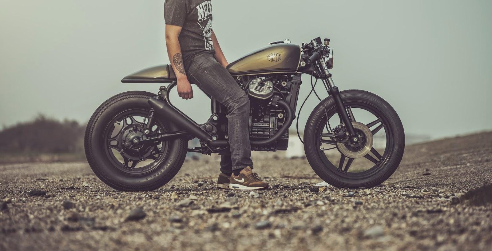 for motorcycle fans honda cx500 cafe racer by nozem amsterdam. Black Bedroom Furniture Sets. Home Design Ideas