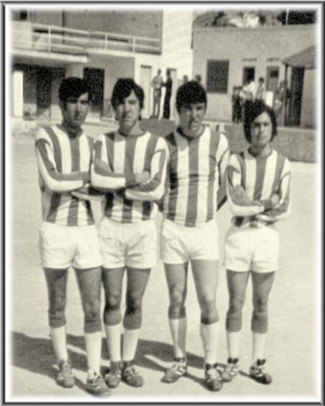 Fotos antiguas de ibi jugadores del muebles as 1969 70 for Muebles verdu ibi