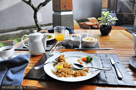 bali coffee breakfast fried rice