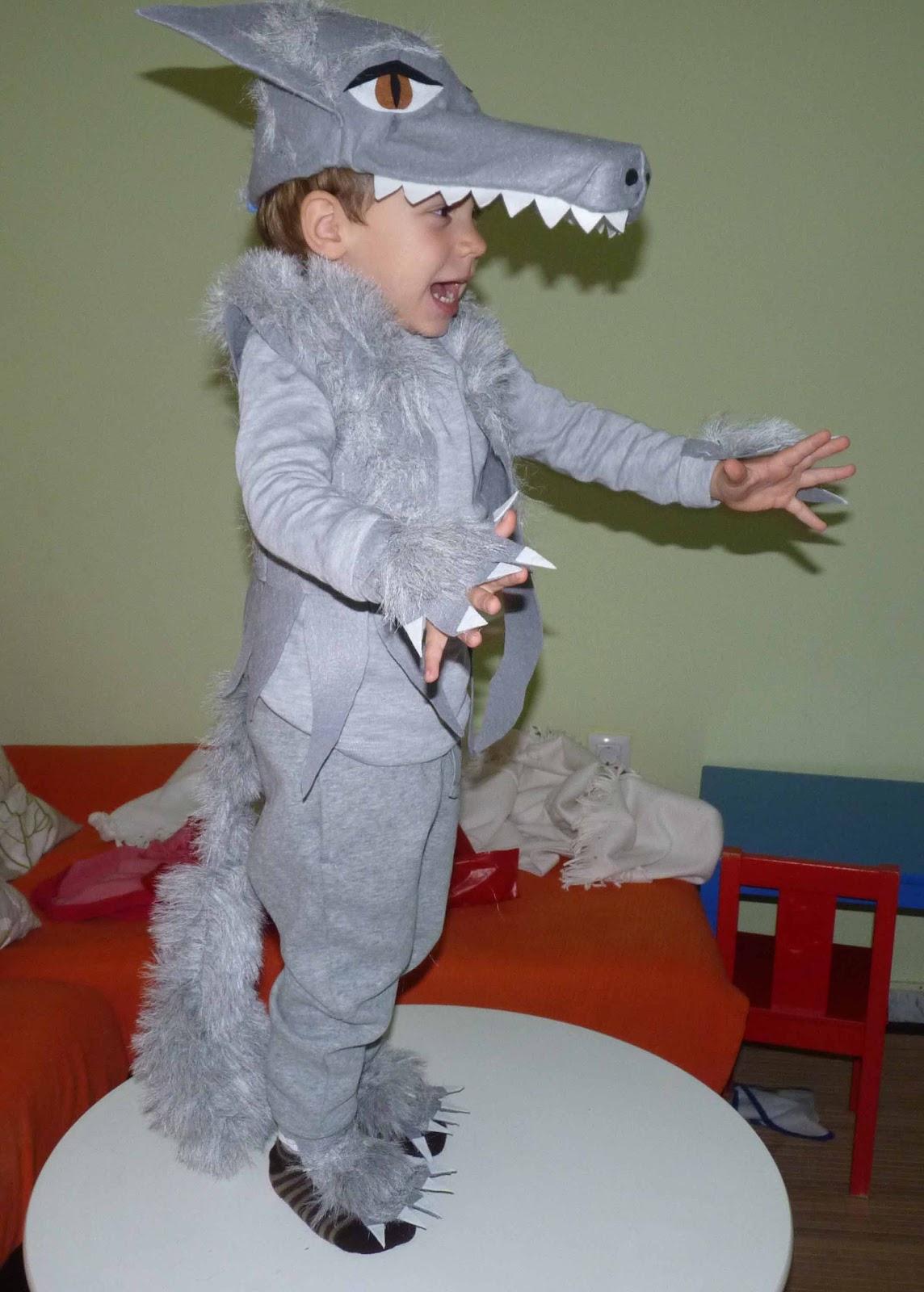 Disfraz de lobo car interior design - Disfraz para bebes ...