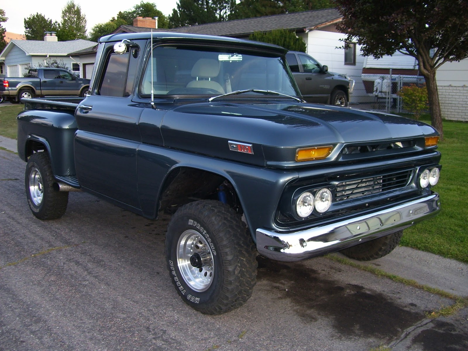 Lifted Chevy Trucks Free July Nuts And Boltslifted Truck 1966 C10 Cheap Stepside With