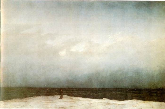 Bild: http://4.bp.blogspot.com/-GZg4zl6B3gU/UOnAHr3UY7I/AAAAAAAAAes/21pgXOM9yAE/s1600/Friedrich_Monk-by-the-Sea.jpg