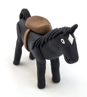 Konj Mistral fondant