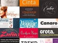 Las tipografías mas destacadas de 2013