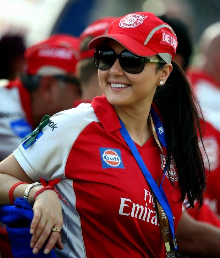 Preity Zinta - Kings XI Punjab