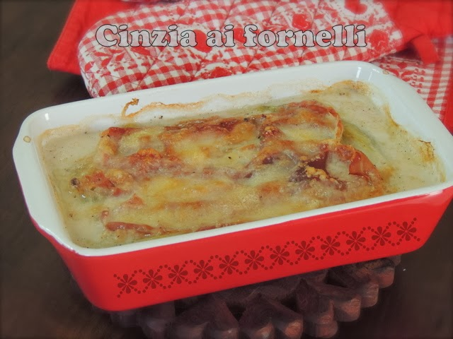 insalata belga al forno / endives au jambon