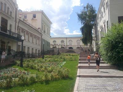 Улица Миславского, клумбы