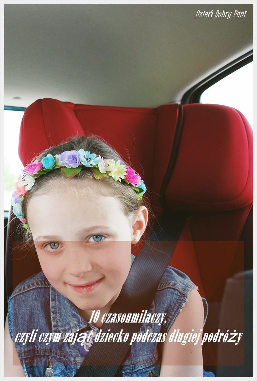 czym zająć dzieci w samochodzie