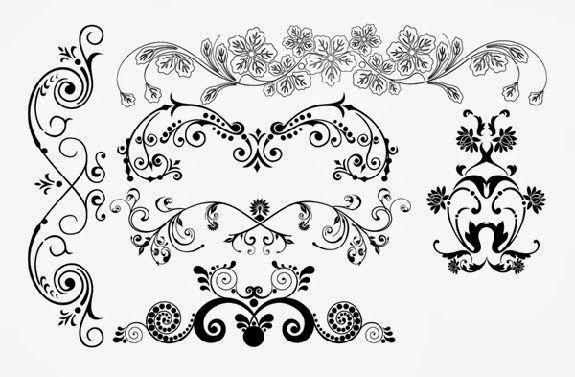 Design Floral Ornaments