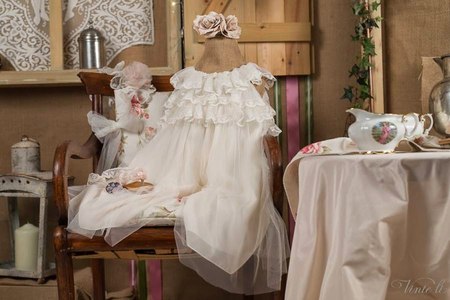 clothes for girl's christening 2301b
