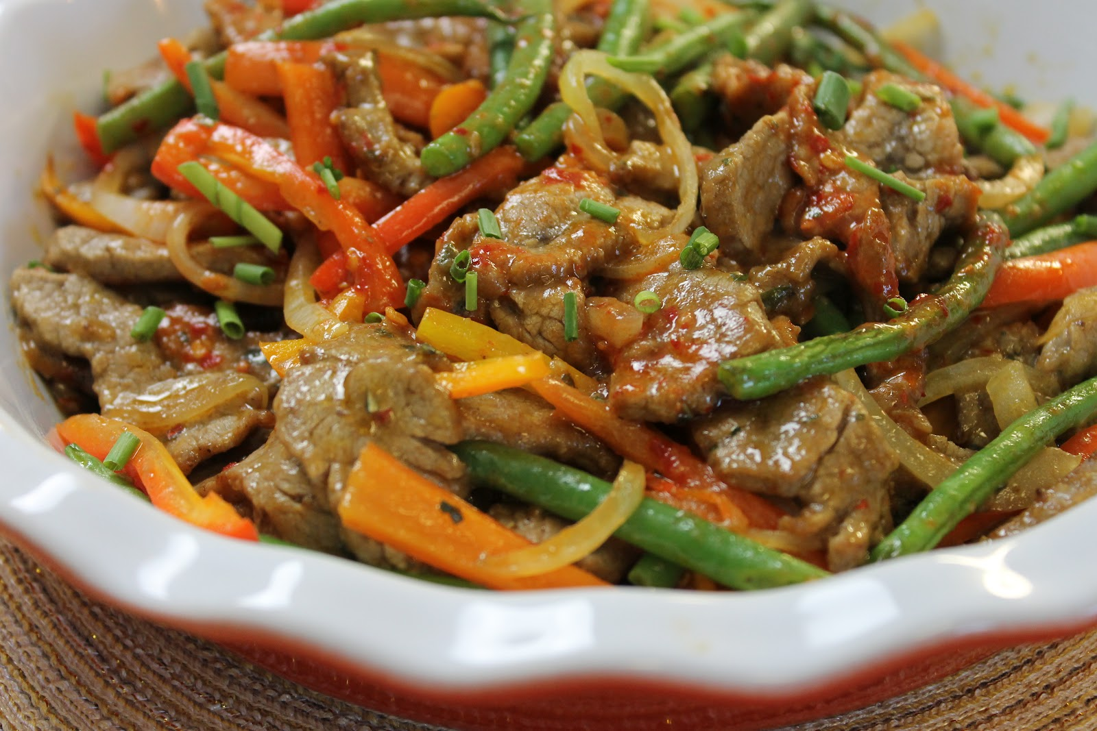 ... Today - From Pantry To Table: From the Pantry - Spicy Stir-Fried Beef