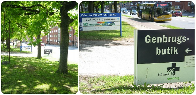 Teaklover Blå Kors Genbrugsbutik Studierabat århus N