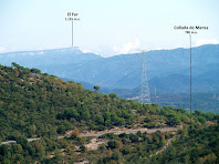 Les cingleres del Far des del cim de les Roques Trabucaires