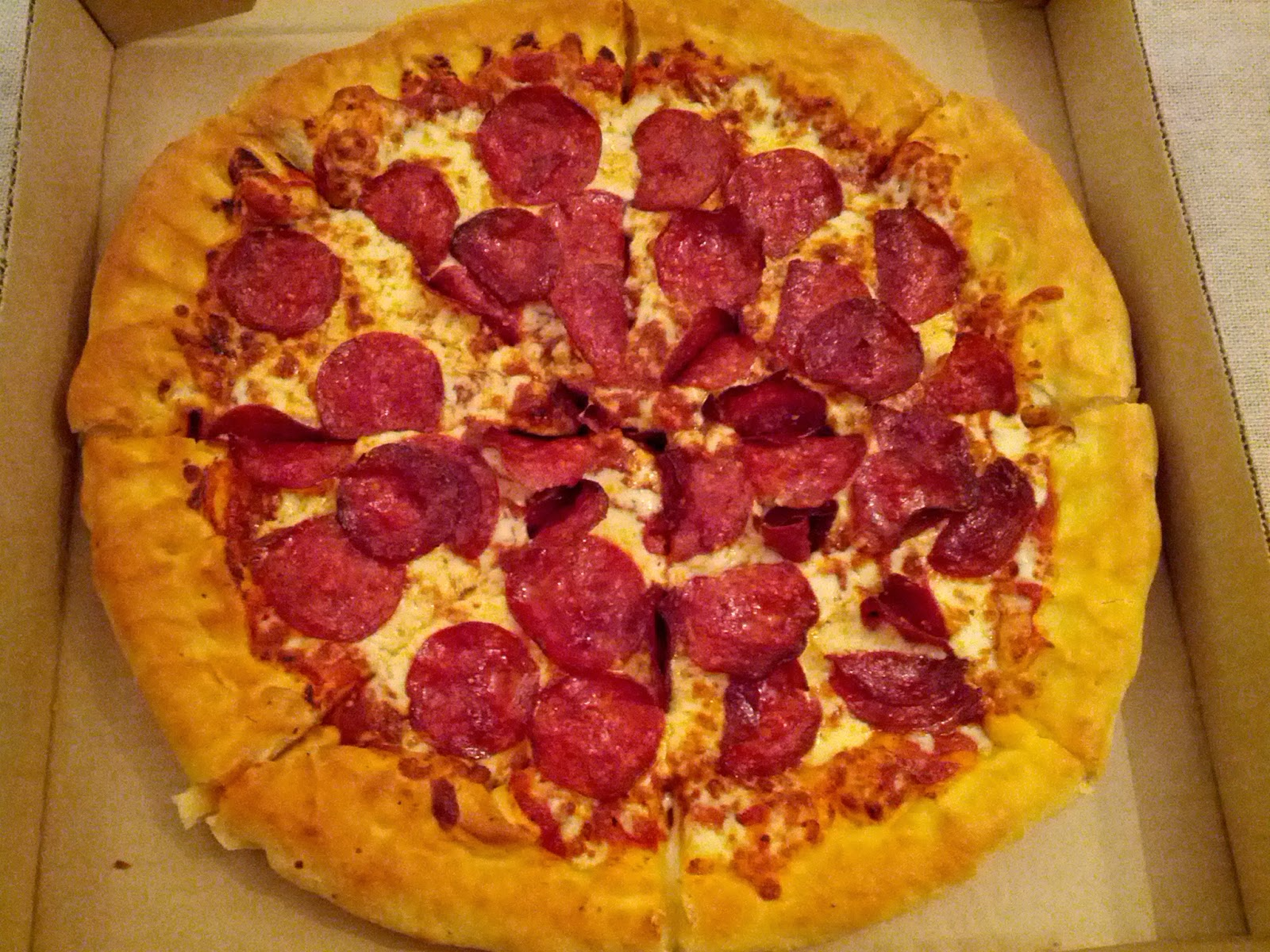 pizza with extra pizza