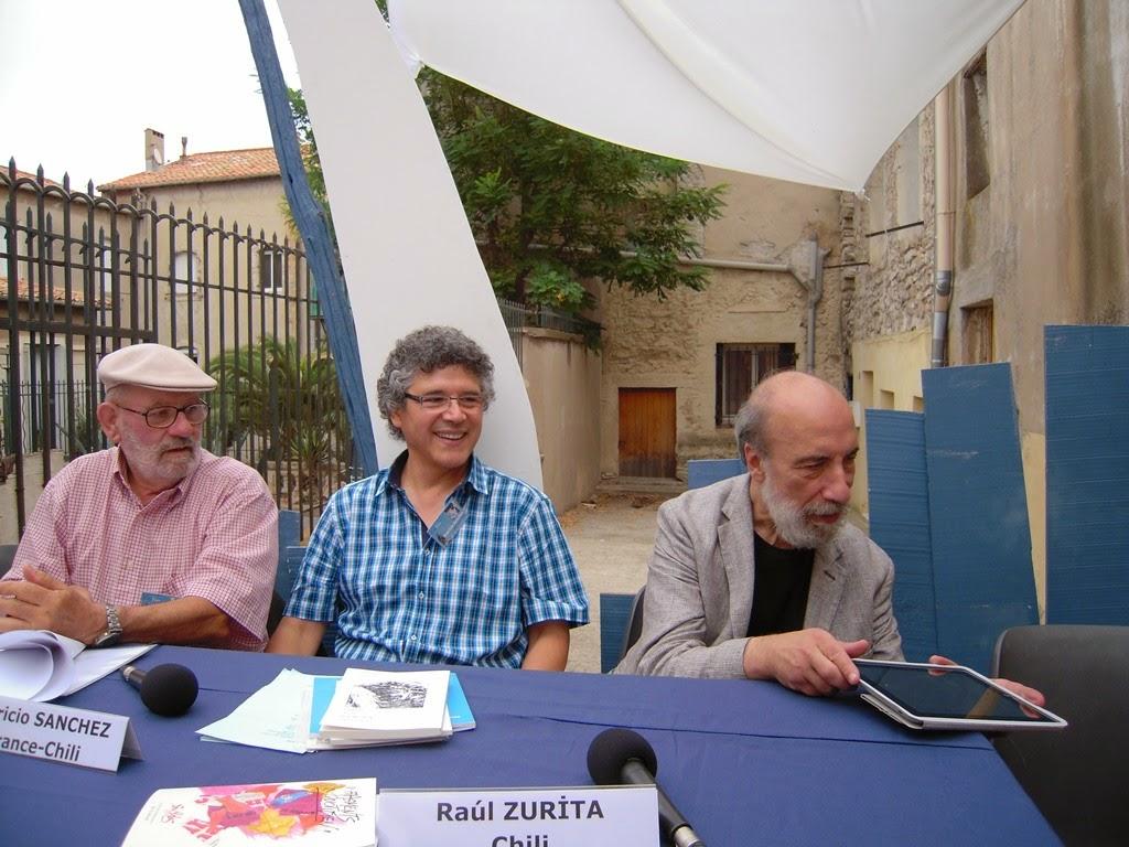GEORGES DRANO, PATRICIO SANCHEZ, RAUL ZURITA, SETE, FRANCE, 2014.