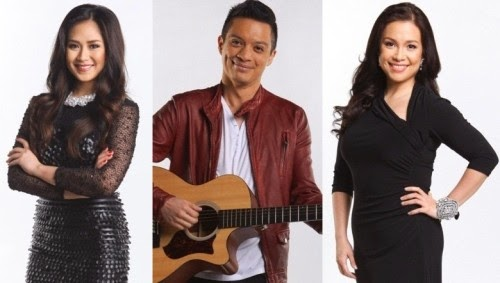 The Voice Kids coaches Sarah Geronimo, Bamboo Mañalac and Lea Salonga
