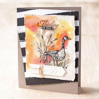 Stampin' Up! Wetlands Card #stampinup