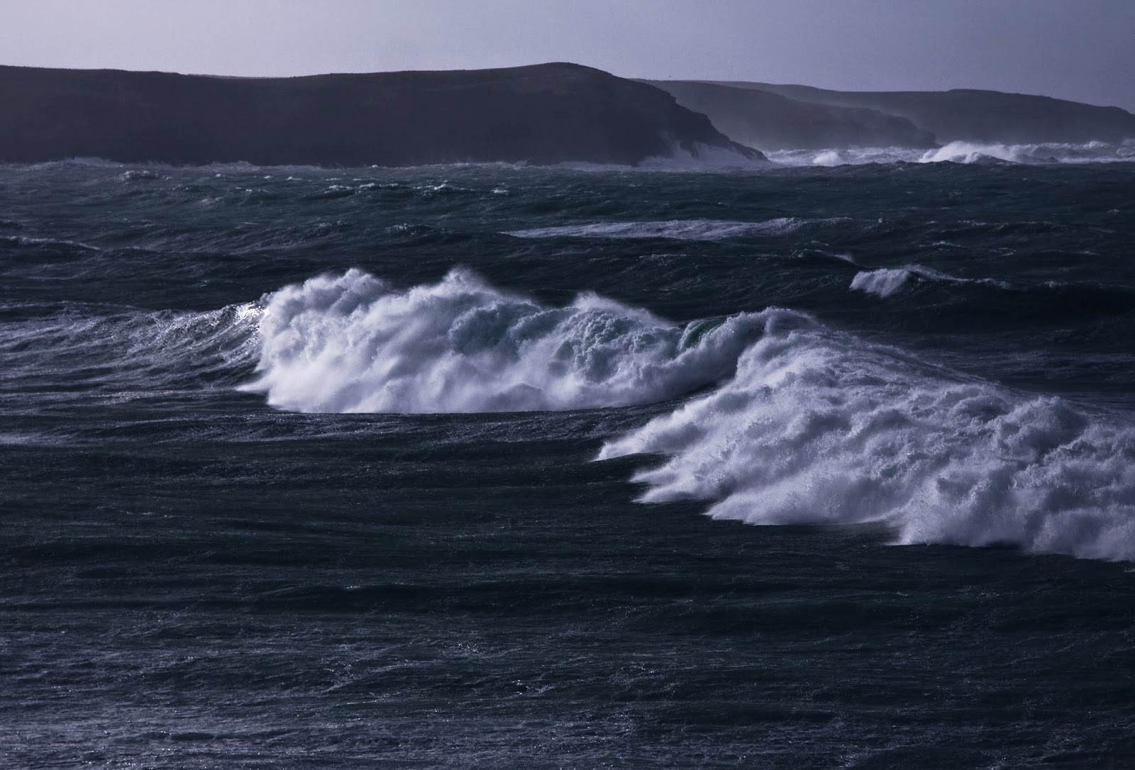 Storm, Sea, Whitewater, Huge Seas, Coast