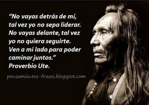 proverbio Ute