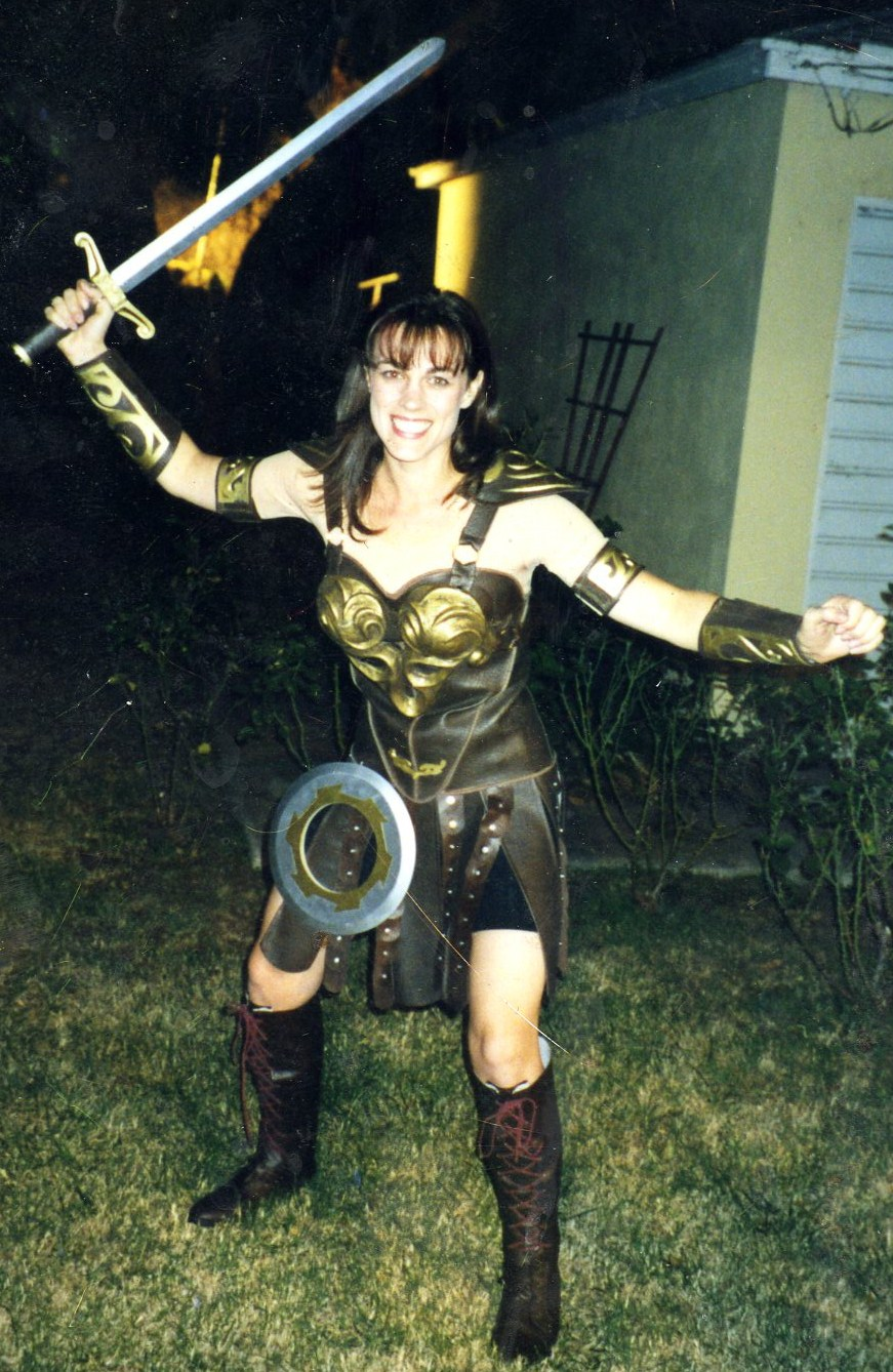 LALALALALALALA   How To Make A Xena Costume