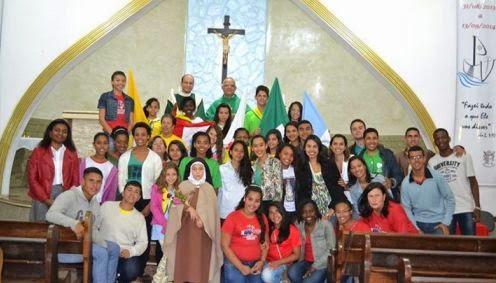Abertura do Mês Missionário em Niterói (RJ)