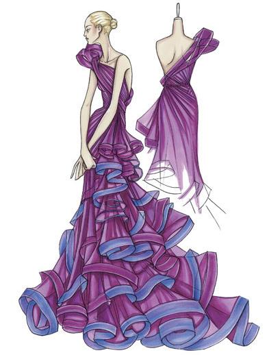 LoveLabels: Fashion Illustrations
