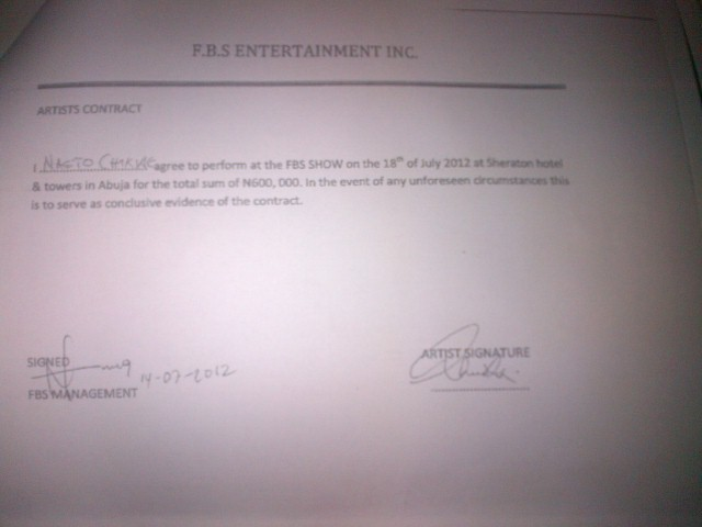 naeto c contract