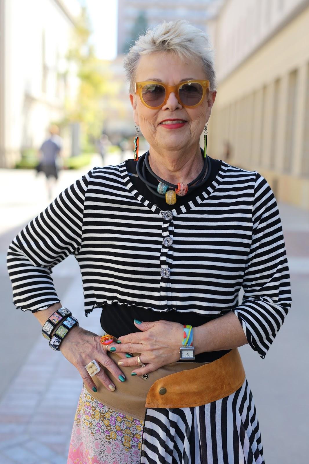 Streetstyle cực chất của những fashionista bô lão ảnh 18