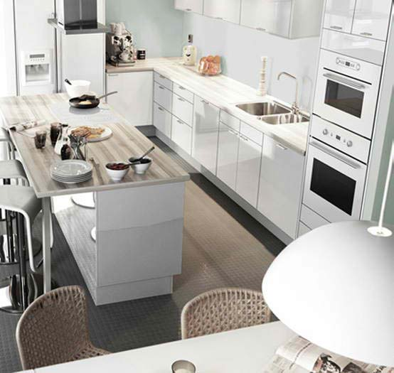 Modern furniture ikea kitchen design ideas modern 2011 for Kitchen furniture layout