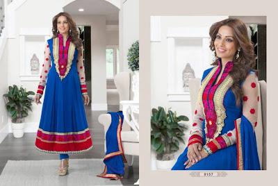 Stunning Bipasha & Ayesha Takia on latest Anarkali Suits AD