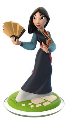 TOYS : JUGUETES - DISNEY Infinity 3.0 - Mulan  Figura - Muñeco - Videojuego | A partir de 6 años  Comprar en Amazon España & buy Amazon USA