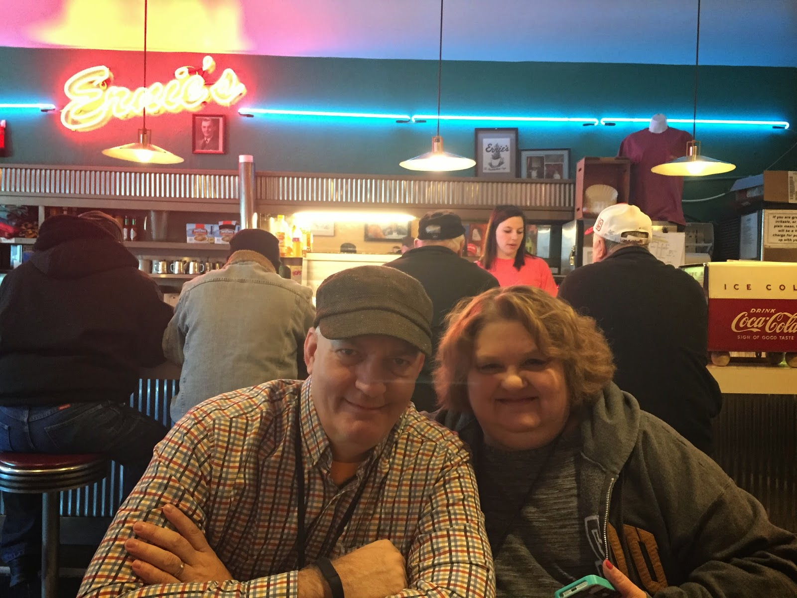Bob and Terri at Ernies