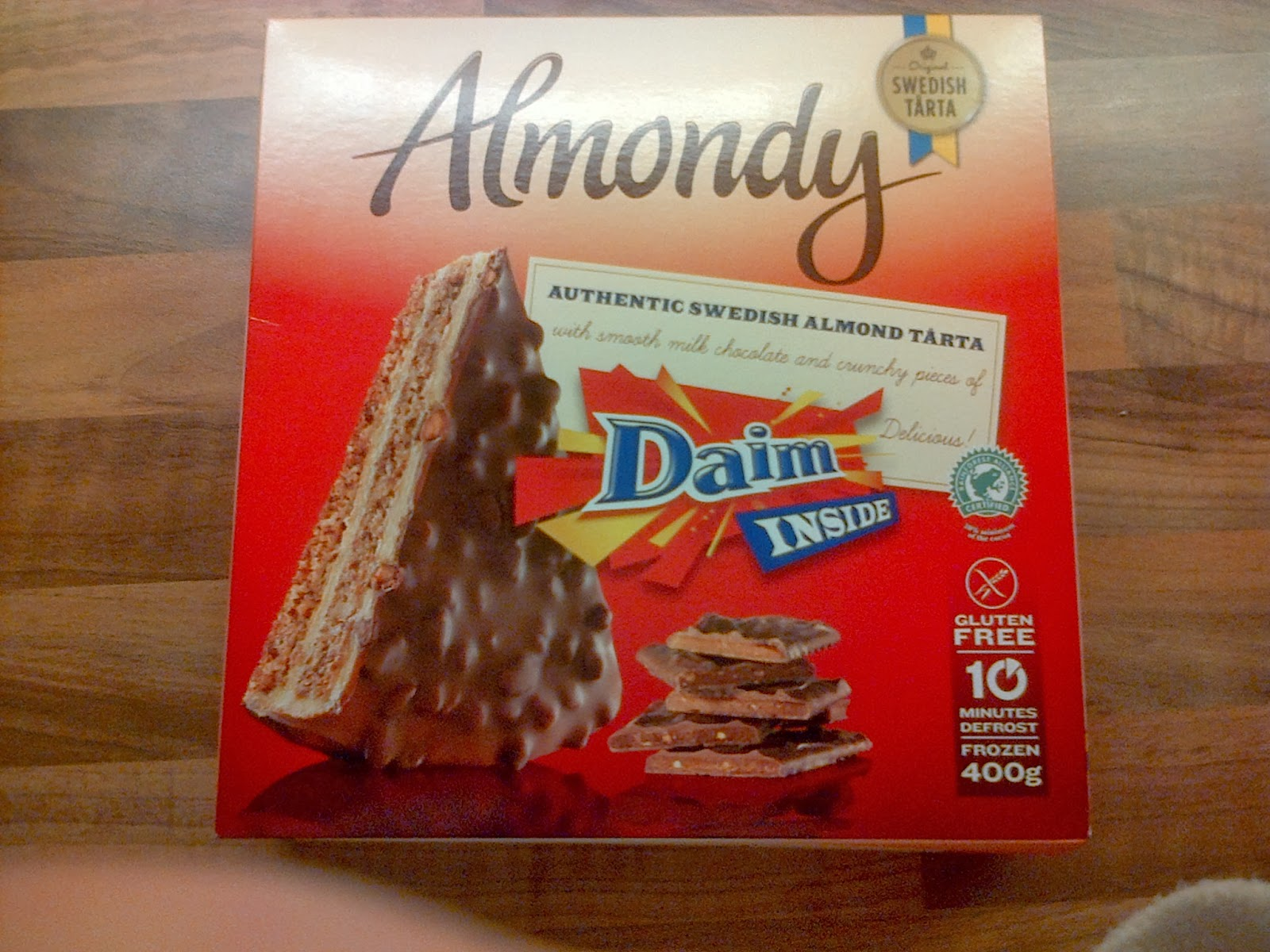 Marvellous Reviews!: 'Almondy' Authentic Swedish Tarta ... Almondy