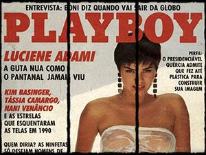 luciene adami nua playboy janeiro 1991