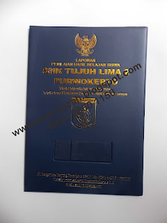 Map Ijazah / Sampul Raport