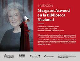 Margaret Atwood, lunes 11 de diciembre de 19 a 21 h