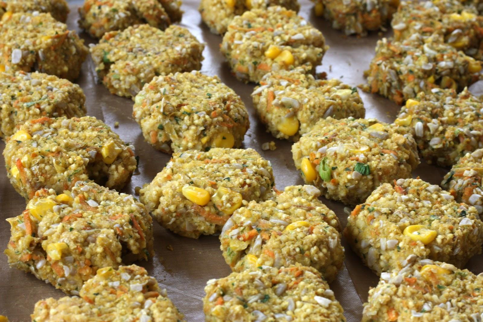 natural food blog: Caribbean Millet Croquettes