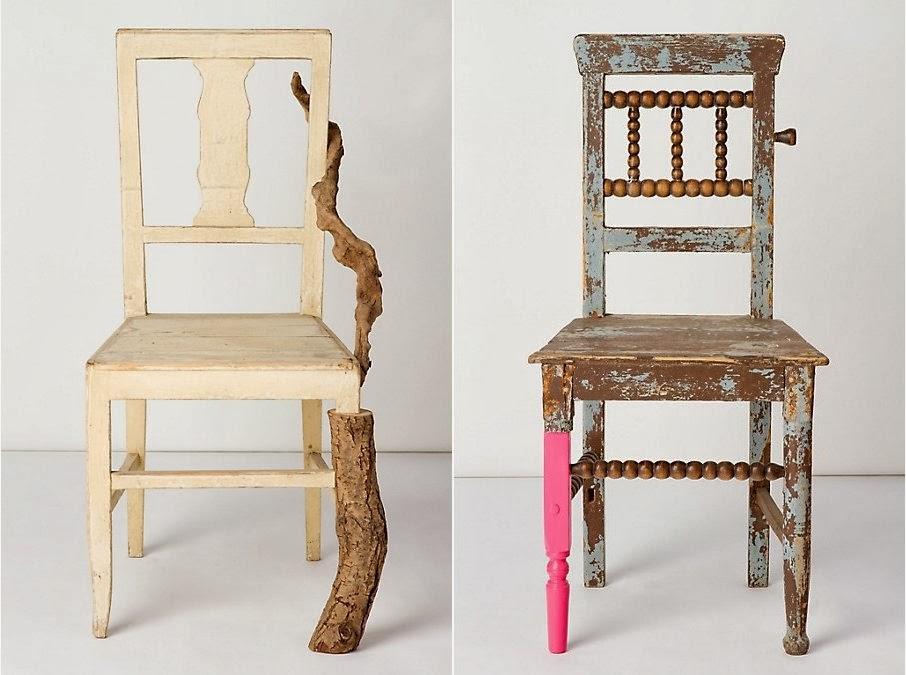 chaises artistes