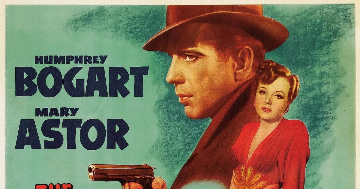 Original maltese falcon movie poster