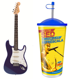 Guitarra-autografiada- Juanes-rifa-restaurantes-Frisby-nivel-nacional