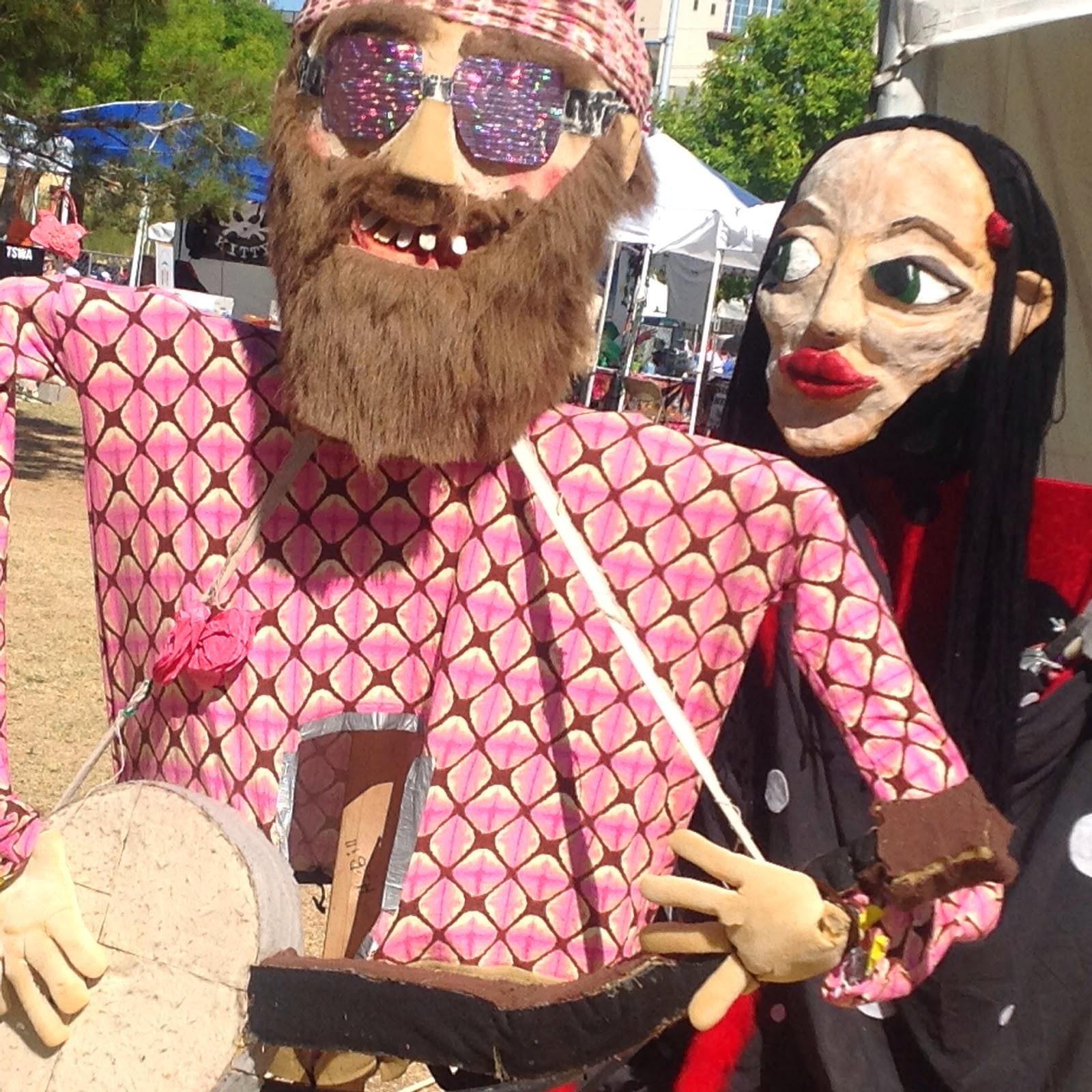 hippy puppet