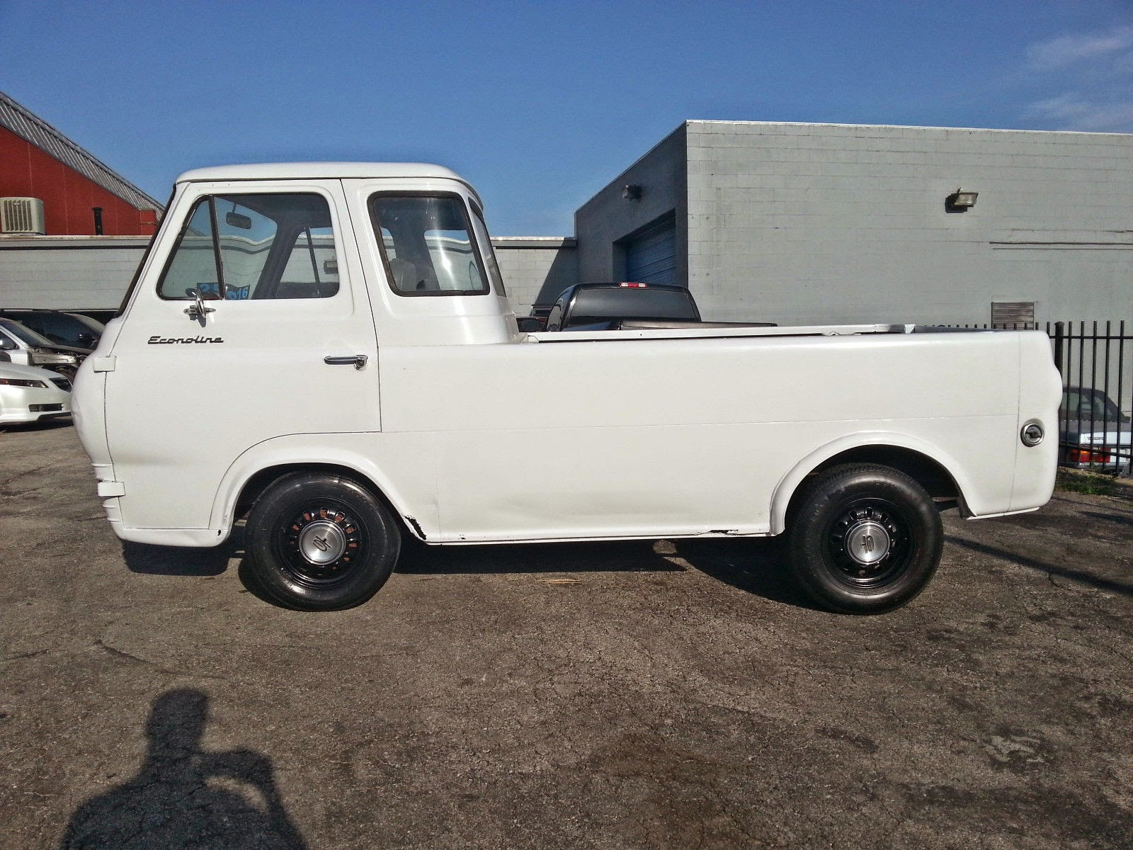 5k meh be 1961 ford econoline pickup with 5 3 v8